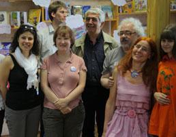 Интересные люди в библиотеке